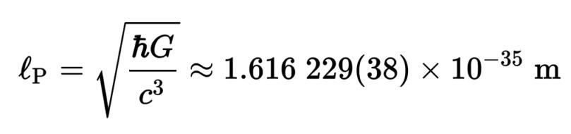Planck Length
