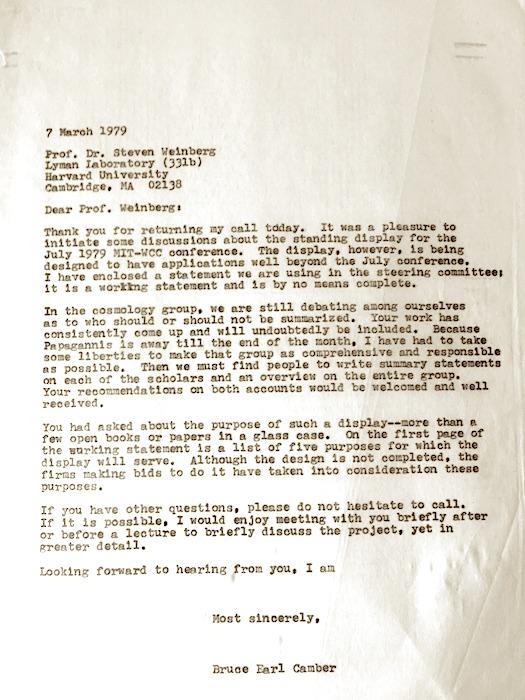 Weinberg-Harvard-1979