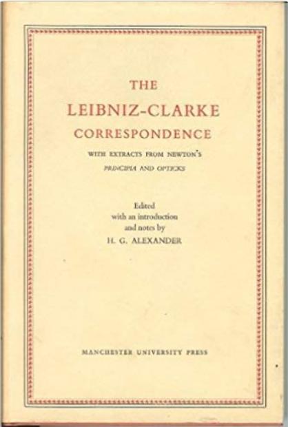Leibniz–Clarke correspondence