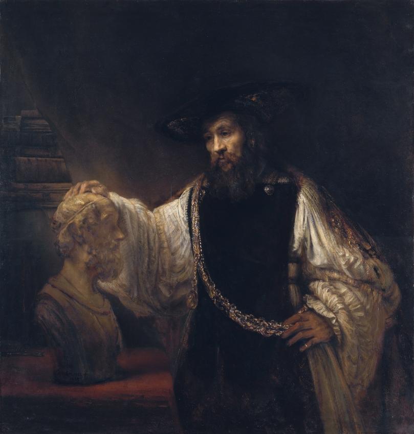 Rembrandt-Aristotle-Homer